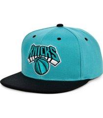 mitchell & ness new york knicks minted snapback cap