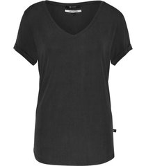 simple tiago cupro t-shirt fj-cup-01 black