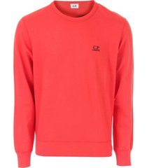 mens diagonal raised fleece crew sweatshirt