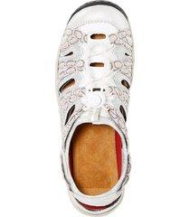 skor rieker ljusgrå