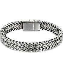 jim chevron titanium bracelet