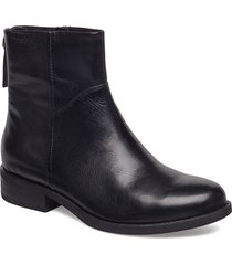 cary shoes boots ankle boots ankle boots flat heel svart vagabond