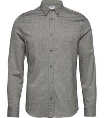 m. lewis flannel shirt overhemd casual grijs filippa k