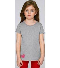 t-shirt dziewczęcy heart