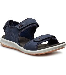 cruise ii shoes summer shoes flat sandals blå ecco