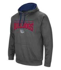 colosseum gonzaga bulldogs men's poly performance hooded sweatshirt