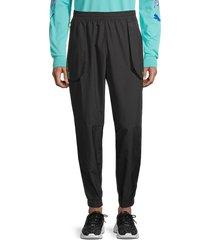 puma men's first mile xtreme woven sweatpants - black - size xl