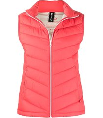 ecoalf maastrich recycled polyester gilet - pink