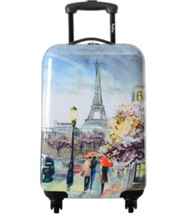 """wembley live it up 20"""" carry-on luggage"""
