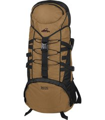 mochila marrón montagne vulcano