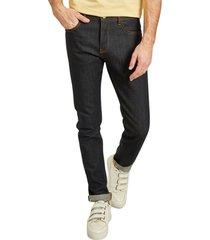 ash selvedge raw denim jeans
