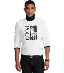 polo ralph lauren men's big pony logo double-knit sweatshirt