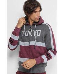 jaqueta fatal moletom tokyo masculina