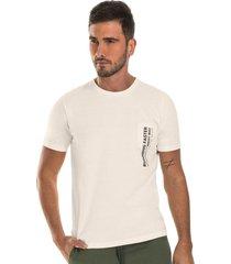 camiseta masculina adulto rovitex bege - bege - masculino - dafiti