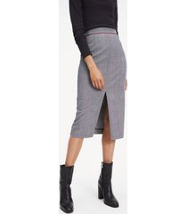tommy hilfiger women's pencil midi skirt prince of wales - 4