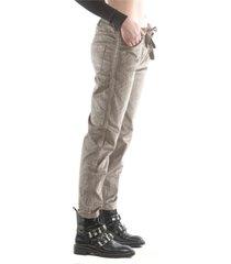pantalón italiano línea brillo verde bous