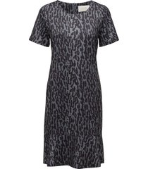 pebble jurk knielengte zwart munthe