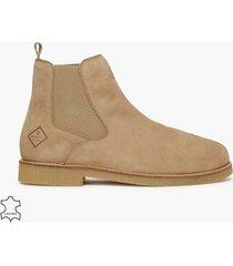 gant barkley chelsea chelsea boots camel