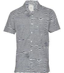 emanuel kortärmad skjorta multi/mönstrad minimum