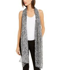 eileen fisher abstract-print silk scarf, created for macy's