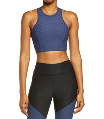 outdoor voices athena crop top, size x-large in navy at nordstrom