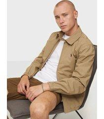 polo ralph lauren poplin cotton jacket jackor tan