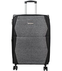 """maleta de viaje mediana  rayo 24"""" gris - explora"""