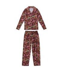 pijama feminino malwee 1000077242 rosa