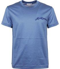alexander mcqueen mcqueen emb t-shirt