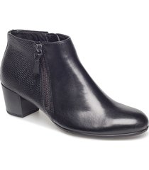 shape m 35 shoes boots ankle boots ankle boots with heel svart ecco