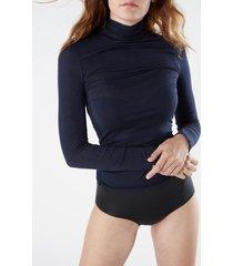 maglia in modal cashmere ultralight collo alto
