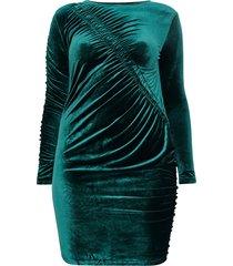 sammetsklänning cardelta ls bodycon dress