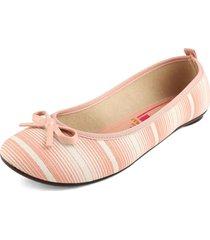 baleta rosa-beige moleca