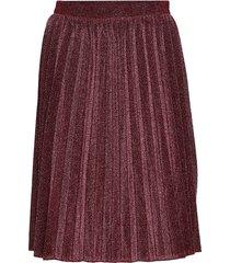 skirt knälång kjol lila sofie schnoor