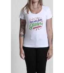camiseta que não falte glitter