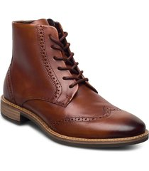 sartorelle 25 tailored shoes boots ankle boots ankle boot - heel brun ecco