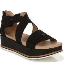 women's dr. scholl's carry on platform wedge sandal