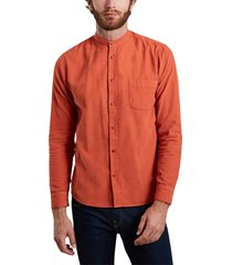 klement corduroy officer collar shirt