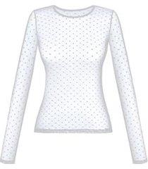 blusa duloren so chic poá feminina