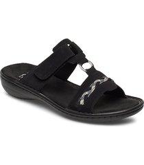 60888-00 shoes summer shoes flat sandals svart rieker