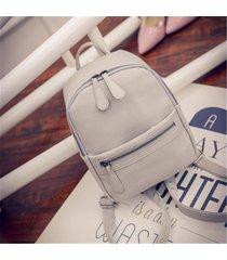 mochila de mujer/ mujeres mochila mochilas escolares-gris