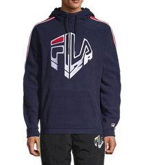 garvey logo hoodie