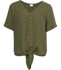 camicetta con nodo (verde) - bodyflirt