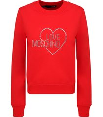 moschino love sweatshirt