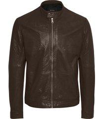 adron soft leather jacket