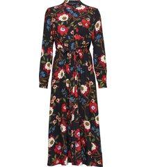 eloise drape 2 midi shrt dress knälång klänning multi/mönstrad french connection