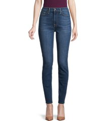 7 for all mankind women's gwenevere high-rise skinny jeans - athens blue - size 24 (0)