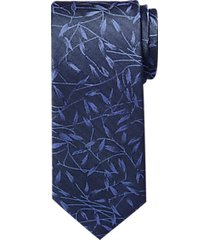 awearness kenneth cole blue & black gray floral narrow tie