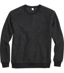 alternative apparel champ eco-teddy sweatshirt black