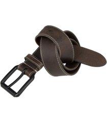 timberland 38mm contrast stitch belt